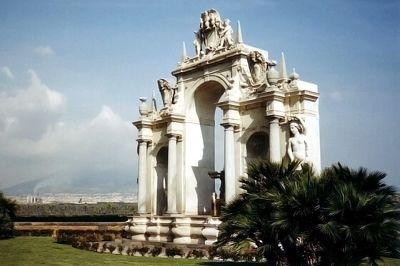 Fontana del Gigante, Naples, Italy 2001 - Naples