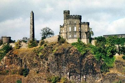 Calton Hill, Edinburgh, Scotland, UK 1997 - Edinburgh