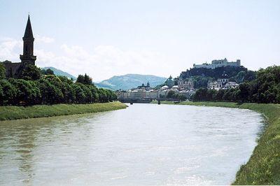 Salzach, Salzburg, Austria 2000 - Salzburg