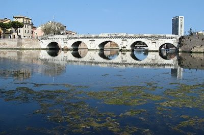 Ponte di Tiberio, Rimini, Italy 2012 - Rimini