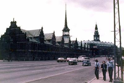Borsen, Copenhagen, Denmark 1974 - Copenhagen