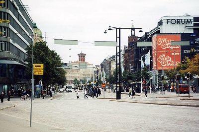 Mannerheimintie, Helsinki Finland 2000 - Helsinki
