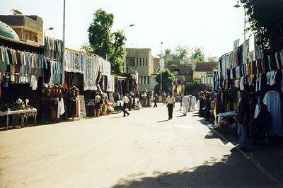 street, Edfu, Egypt 2001 - Idfu