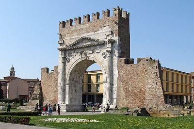 Arco di Augosto, Rimini, Italy 2012 - Rimini