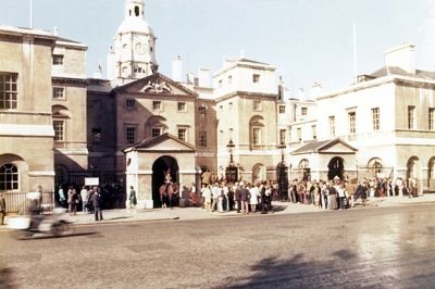 Horse Guards, London, UK 1974 - London