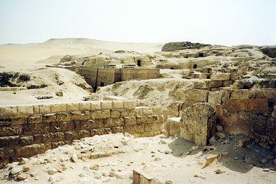 Mastabas, Giza, Egypt 2001 - Pyramids of Giza