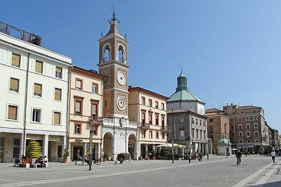 Piazza Tre Martiri, Rimini, Italy 2012 - Rimini