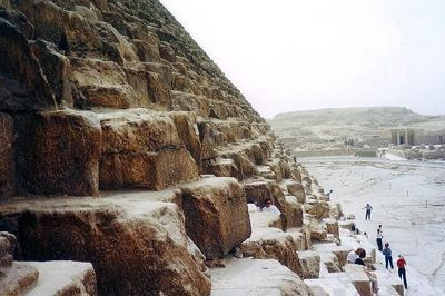 Pyramid, Giza, Egypt 2001 - Pyramids of Giza