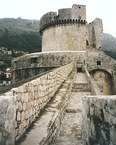 Minèeta Tower, Dubrovnik, Croatia 2004 - Dubrovnik