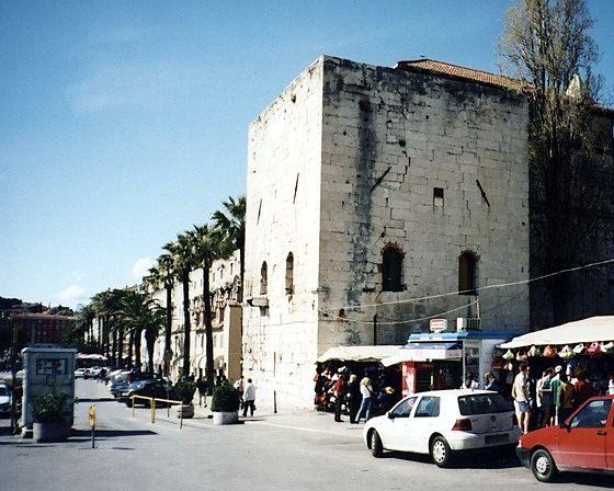 Archbishop's Tower, Split, Croatia 2004 - Split