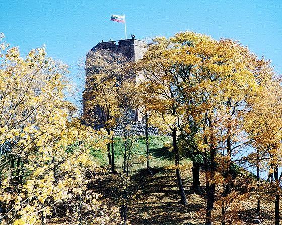 Gediminas Tower, Vilnius, Lithuania 2000 - Vilnius