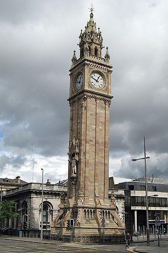 Albert Memorial Clock, Belfast, UK 2007 - Belfast