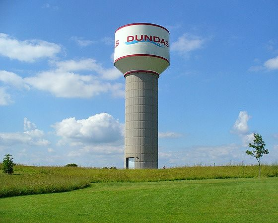 Water Tower, Dundas, Minnesota, US 2011 - Dundas