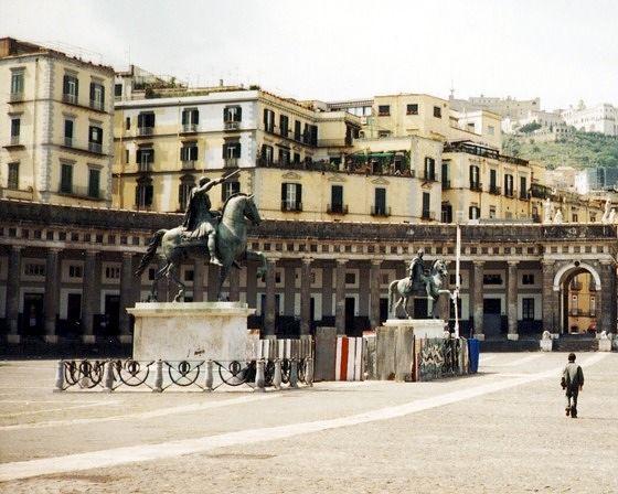 Piazza del Plebiscito, Naples, Italy 2001 - Naples