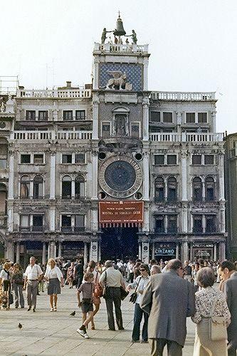 Torre dell'Orologio, Venice, Italy 1973 - Venice