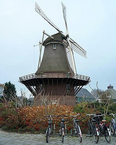 Molen Van Sloten, Amsterdam, Netherlands 2010 - Amsterdam