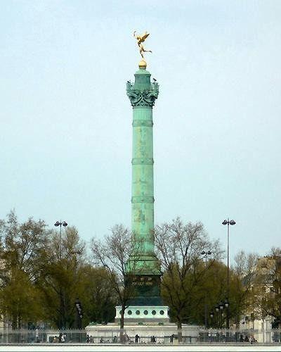 Bastille Colonne de Juillet, Paris, France 2009 - Paris