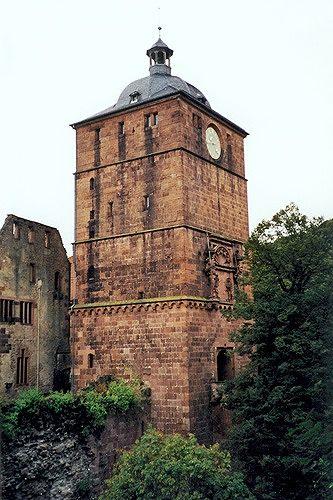 Torturm, Heidelberg, Germany 2000 - Heidelberg