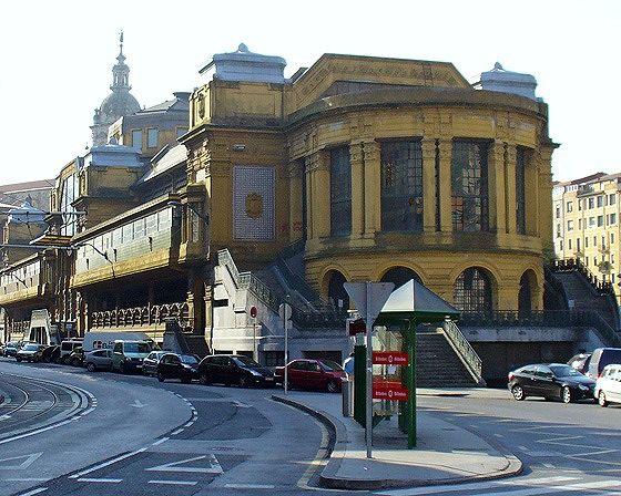 Mercado de la Ribera, Bilbao, Spain 2006 - Bilbao