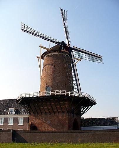 Molen Rijn en Lek, Wijk Bij Duurstede, NL 2005 - Wijk bij Duurstede