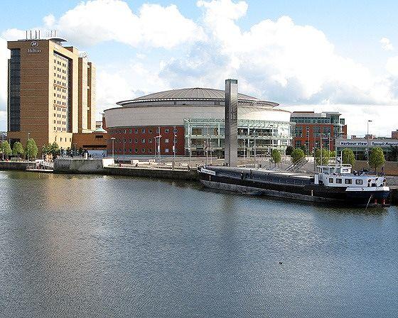 Waterfront Hall, Belfast, UK 2007 - Belfast