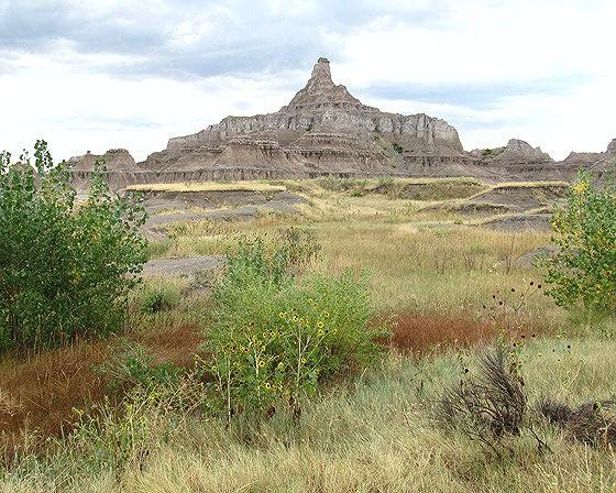 view, Badlands National Park, SD, US 2015 - Badlands National Park