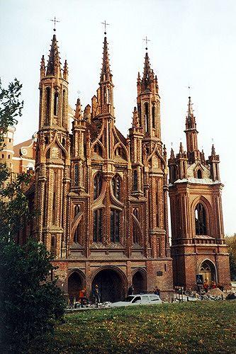 St Anne's Church, Vilnius, Lithuania 2000 - Vilnius