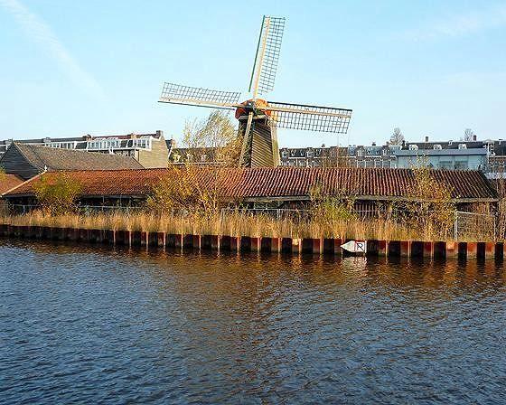 Molen De Otter, Amsterdam, Netherlands 2010 - Amsterdam