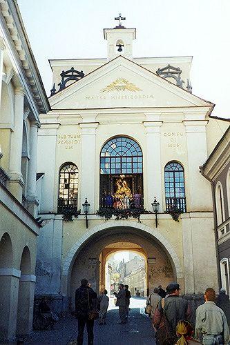Gate of Dawn, Vilnius, Lithuania 2000 - Vilnius