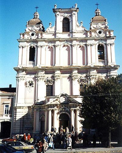 Church of St Casimir, Vilnius, Lithuania 2000 - Vilnius