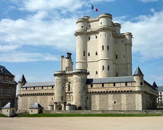Donjon, Chateau  de Vincennes, France 2009 - Vincennes