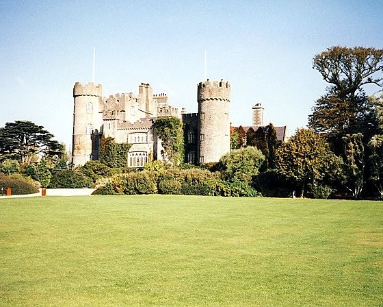 Malahide Castle, Dublin, Ireland 1997 - Malahide