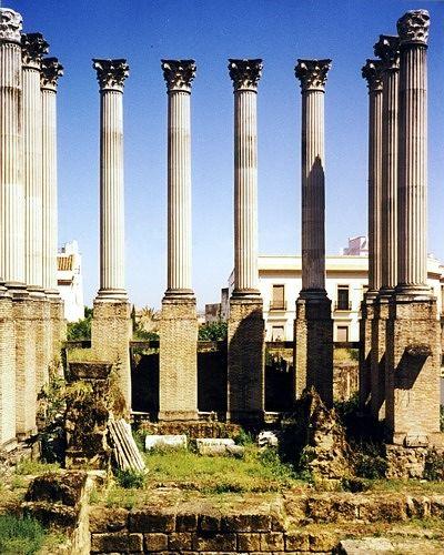 Templo Romano, Cordoba, España 1998 - Córdoba