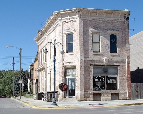 Bank, Newcastle, Wyoming, US 2015 - Newcastle