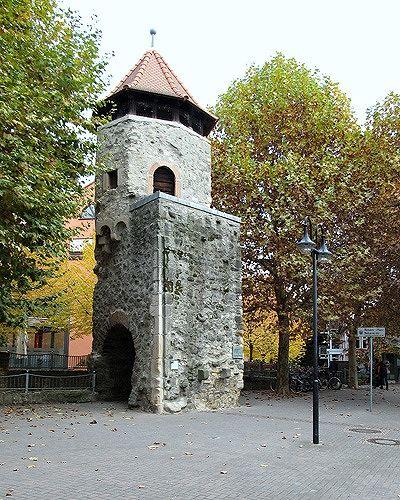 Rinnentorturm, Bensheim, Germany 2011 - Bensheim