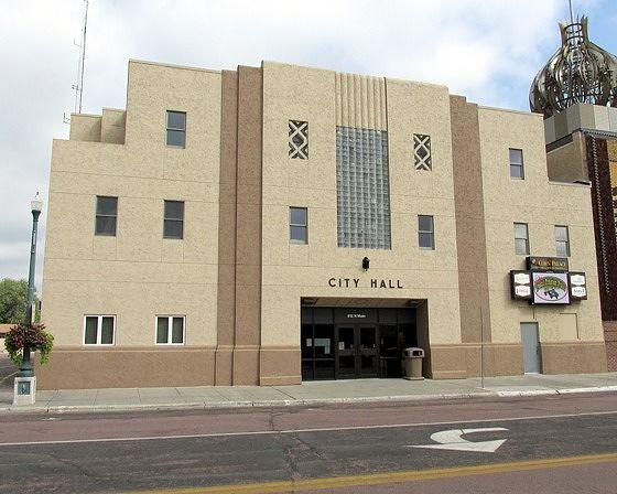 City Hall, Mitchell, South Dakota, US 2015 - Mitchell