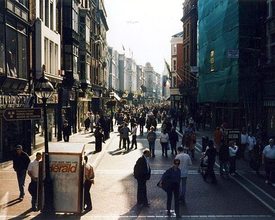Grafton Street, Dublin, Ireland 1997 - Dublin