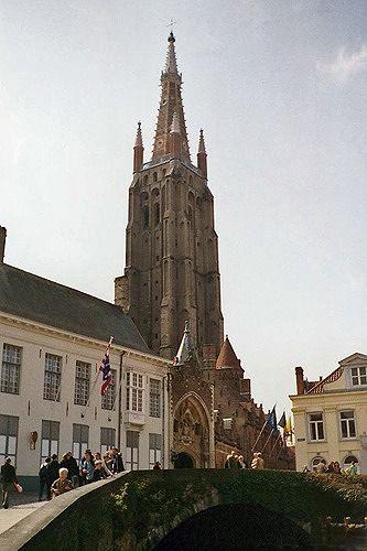 Onze Lieve Vrouwekerk, Brugge, Belgium 2004 - Brugge