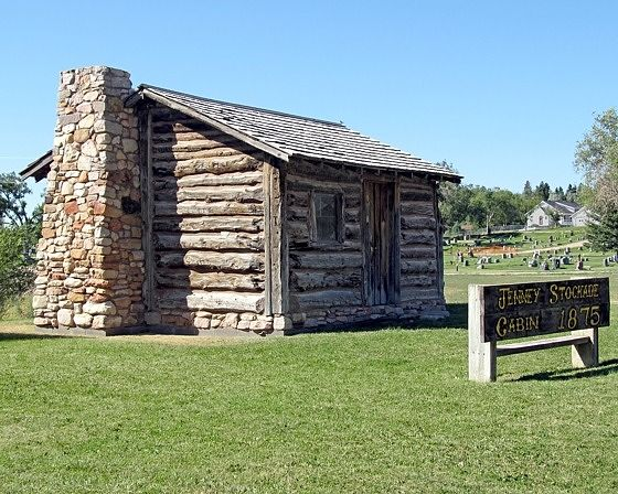 Jenny Stockade Cabin, Newcastle, Wyoming, US 2015 - Newcastle