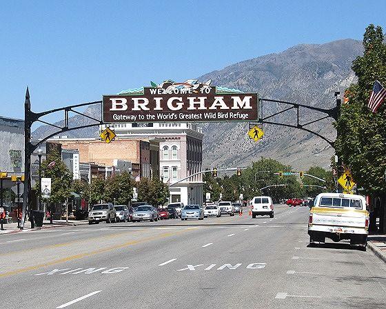 Archway, Brigham City, Utah, US 2015 - Brigham City