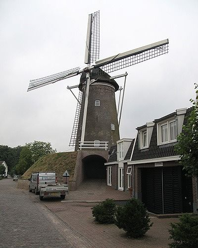 Molen Maallust, Amerongen, Netherlands 2016 - Amerongen