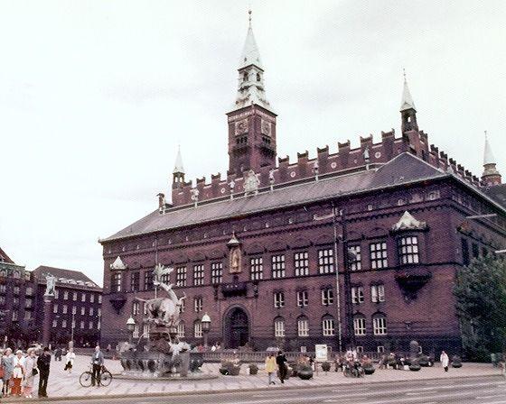 Radhus, Copenhagen, Denmark 1974 - Copenhagen