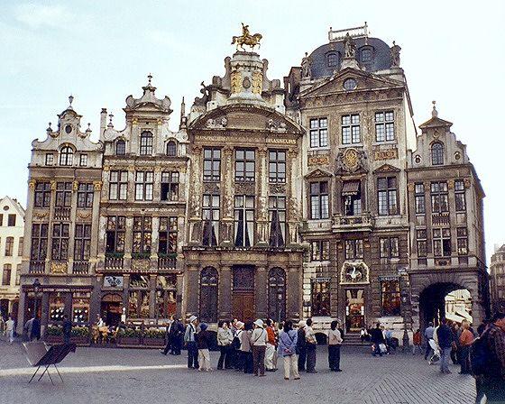 Grand Place 8-12, Brussels, Belgium 2003 - Brussels
