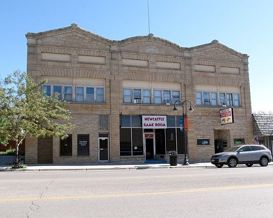 Grieves Building, Newcastle, Wyoming, US 2015 - Newcastle