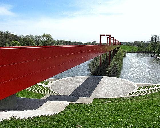 Amphithéatre de l'Axe Majeur, Cergy, France 2014 - Cergy