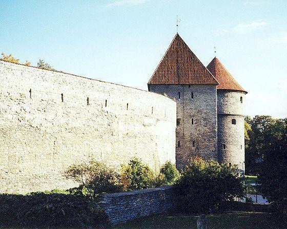 Towers, Tallinn, Estonia 2000 - Tallinn