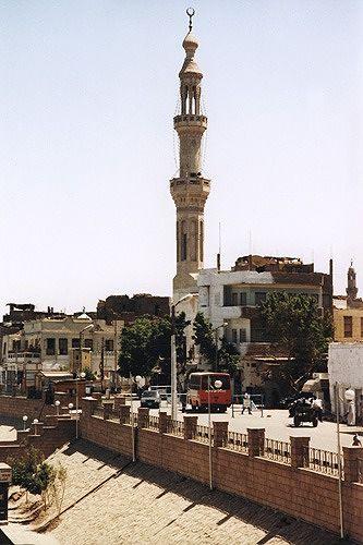 mosque, Esna / Isna Egypt 2001 - Isna