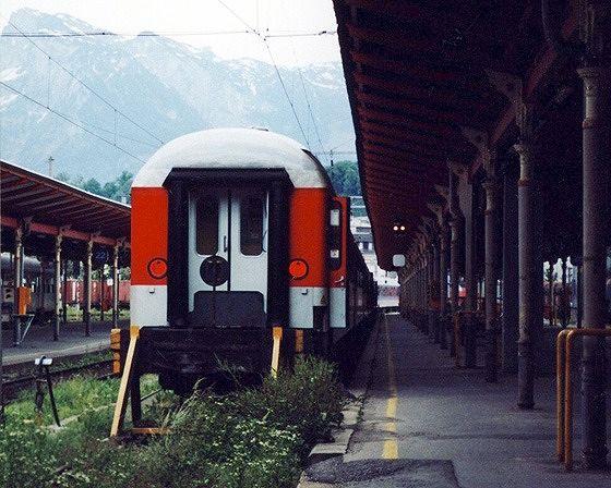 train, Salzburg, Austria 2000 - Salzburg