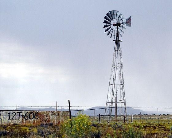 Windmill, Hovenweep, Utah 2015 - Cortez