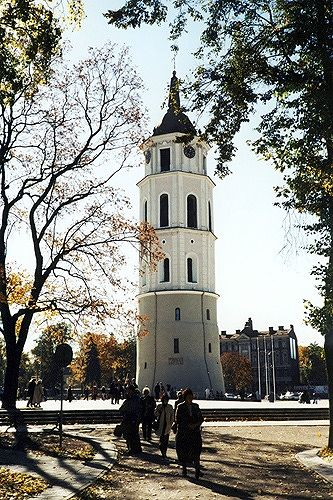Cathedral Bell Tower, Vilnius, Lithuania 2000 - Vilnius